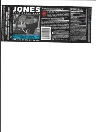 Jones Soda label